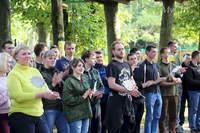 Чемпионат по лазертагу среди работающей молодежи прошел в Могилеве