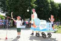 Семейный конкурс-дефиле детских колясок в Могилеве