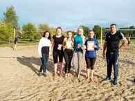 Открытый турнир по пляжному волейболу   «Горячая пора: мяч над сеткой»