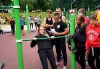 Открытый чемпионат города Могилева  по воркауту среди молодежи